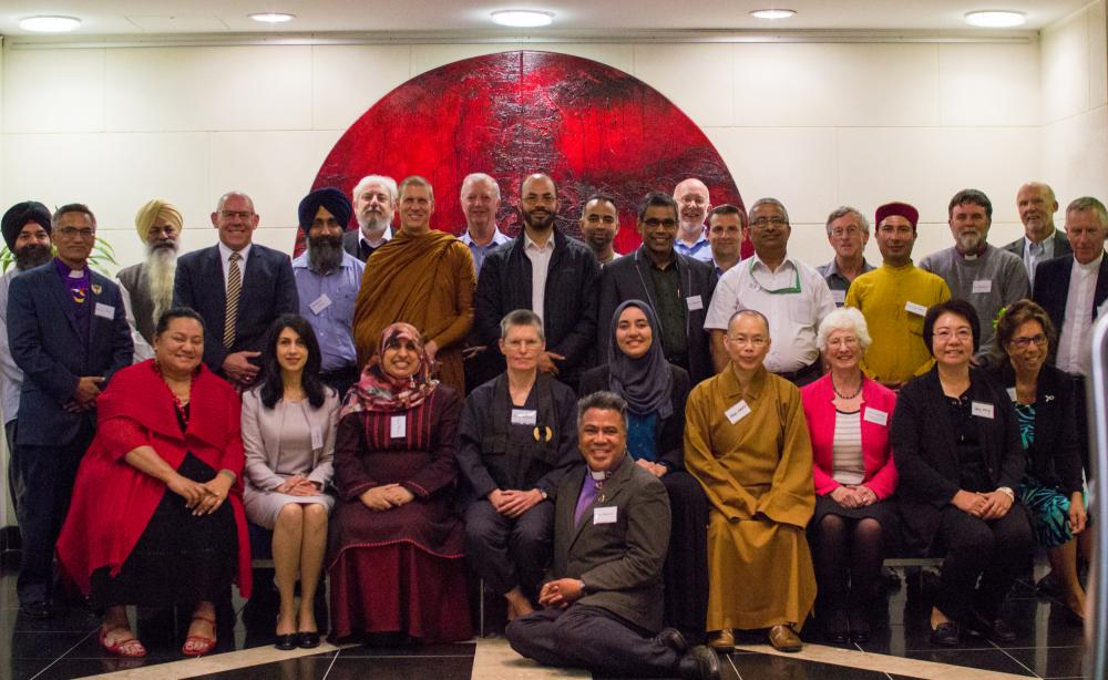 Group of religious leaders